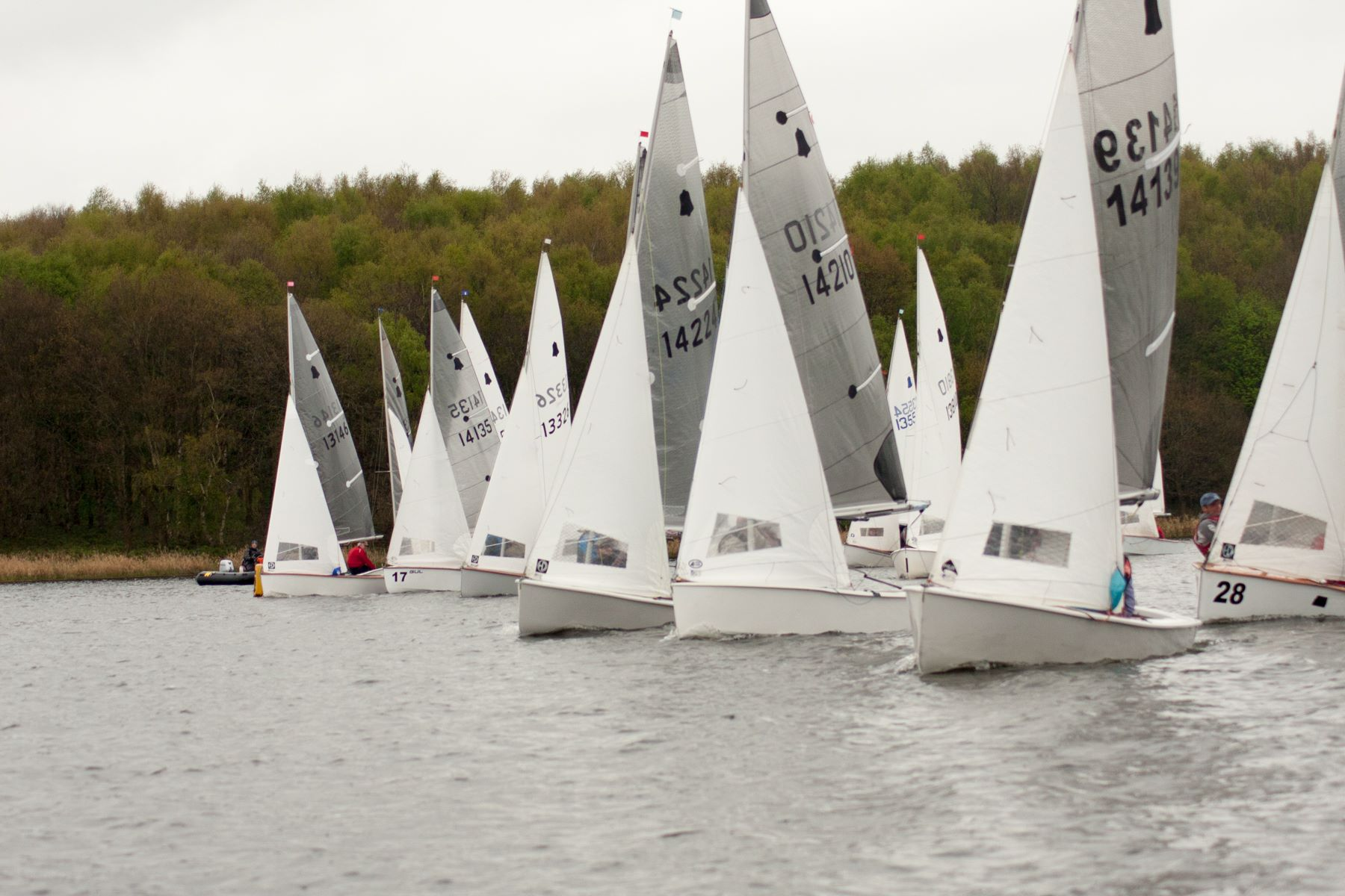 Gp14 Midland Area Champs 1314 April Staunton Harold Sailing Club